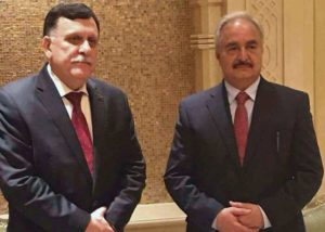 sarraj-and-haftar-300x214