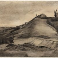 The Hill of Montmartre (1886) (Van Gogh Museum Amsterdam (Vincent van Gogh Foundation))